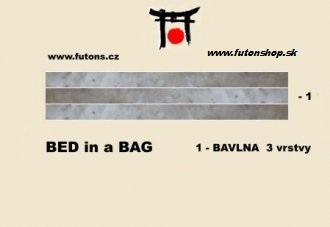 bed in bag - Barva - Black