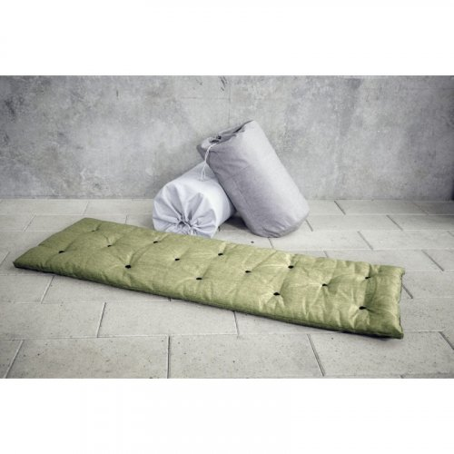 FUTON natural bed in bag (postel v pytli) - rozměr: 90*200 cm, Barva: Light bordeaux